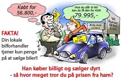 Skal du sælge din skrotbil? - Pas på fup