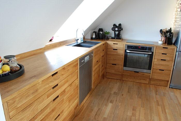 træ køkkenbordplade